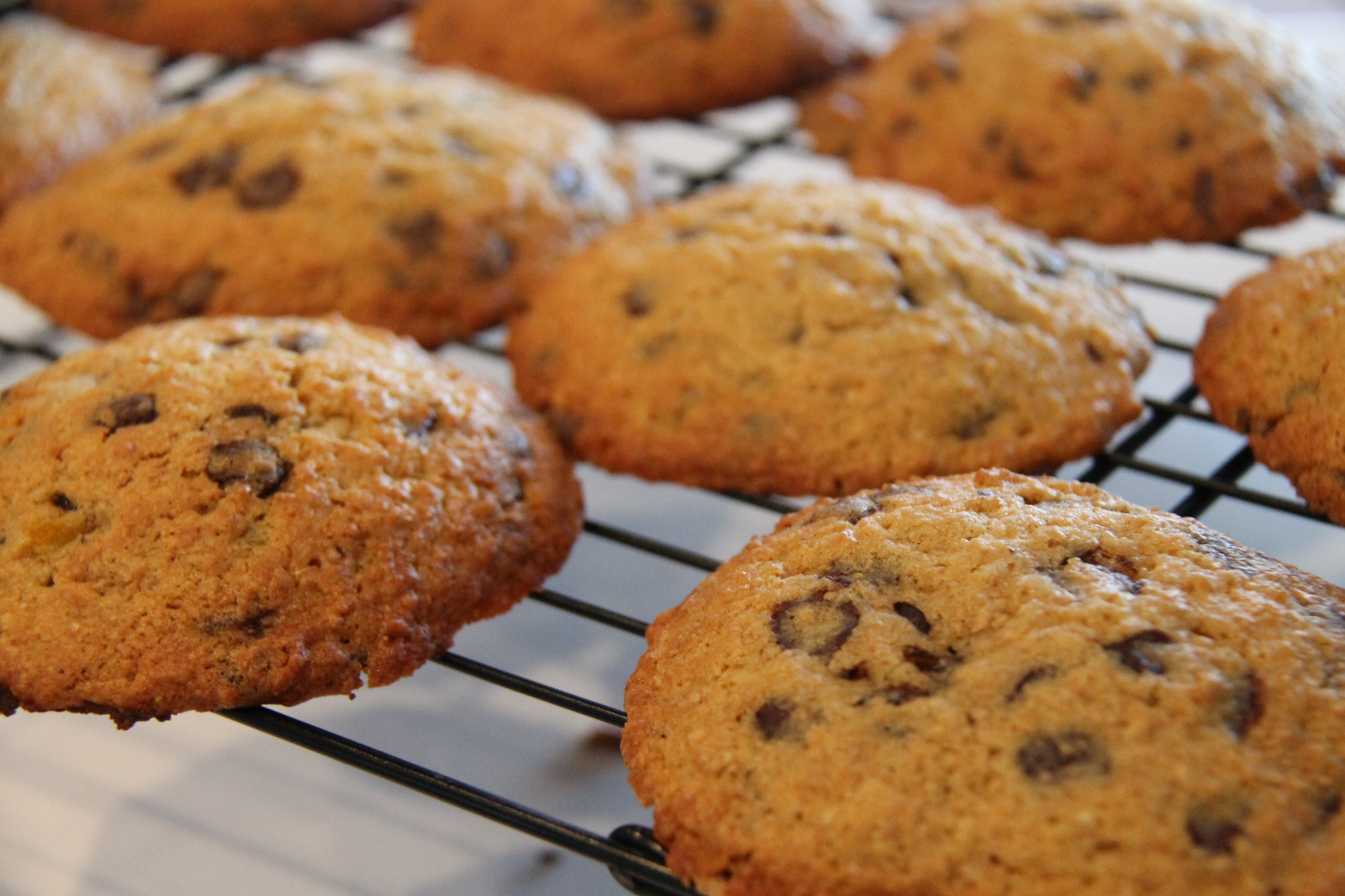Chocolate Chip Pumpkin Wholewheat Cookies | See Michelle Cook